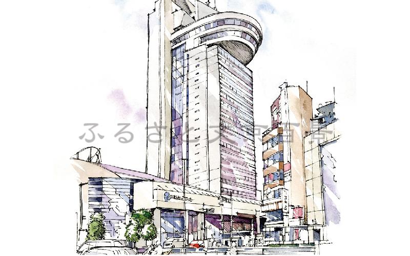 春日の交差点と文京シビックセンター